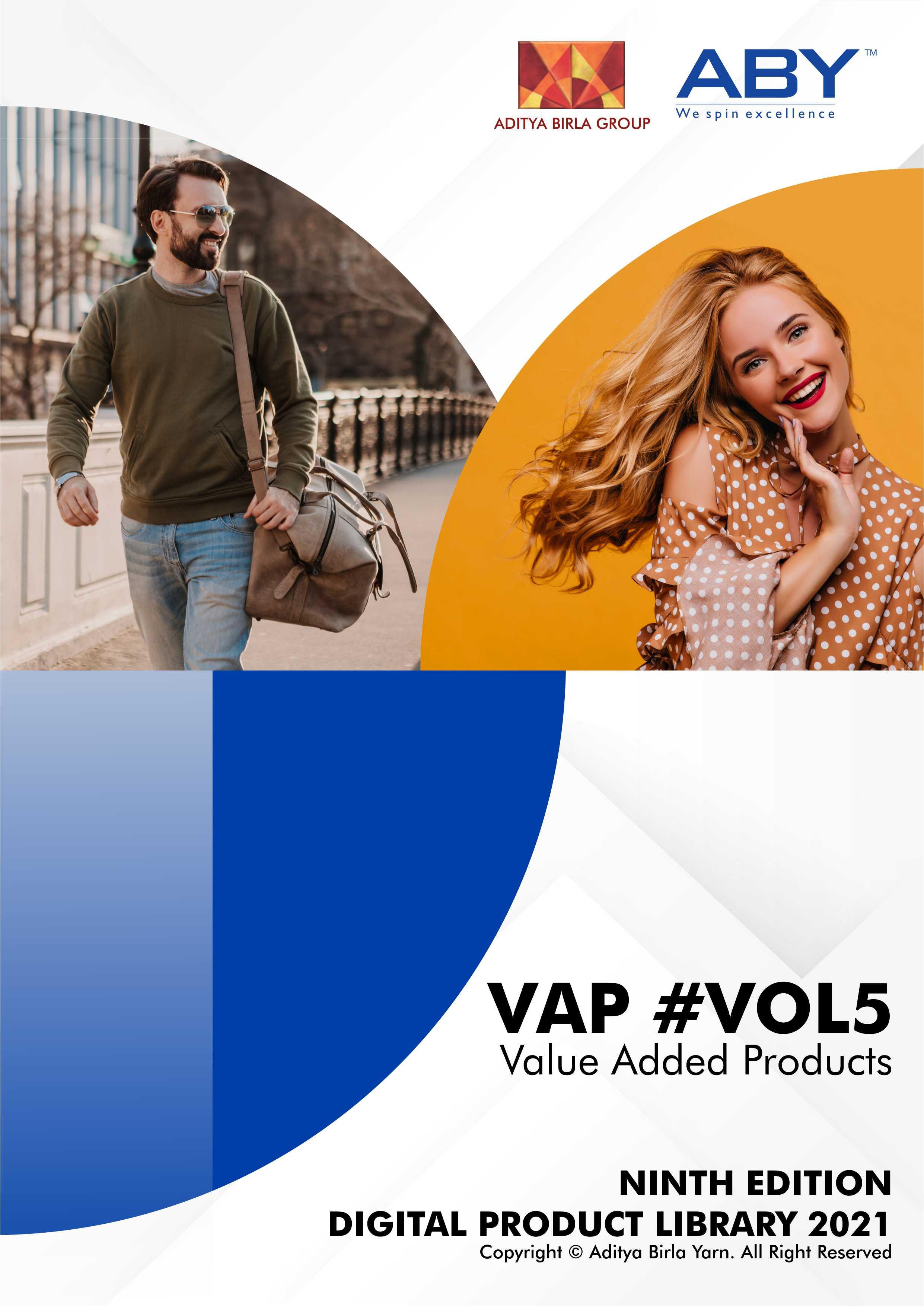Value Added Products of Aditya Birla Yarn! VAP 5